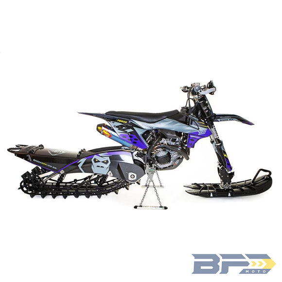 Bike Binderz Snow Bike Kit - Raw - BFD Moto