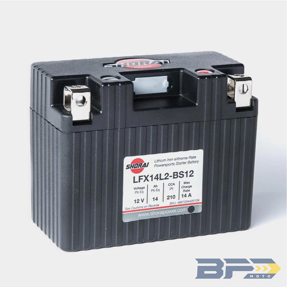 Shorai LXF14L2-BS12 Lithium Ion Battery
