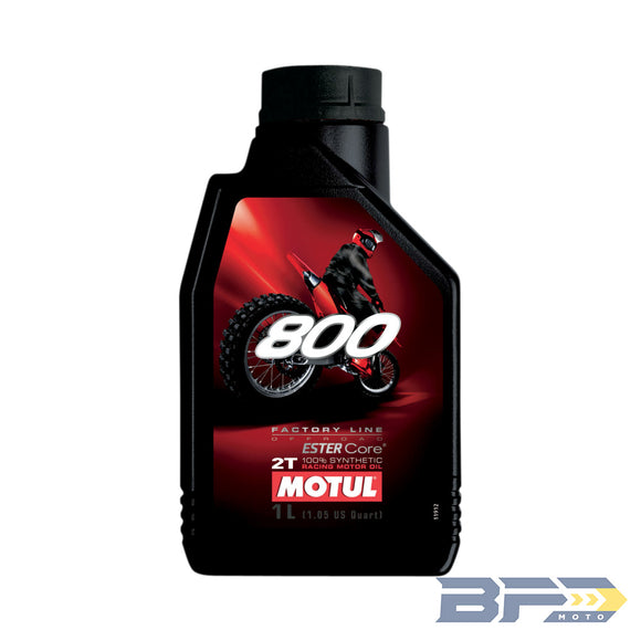 Motul 800 Factory Line 2T Synthetic Premix Oil - BFD Moto