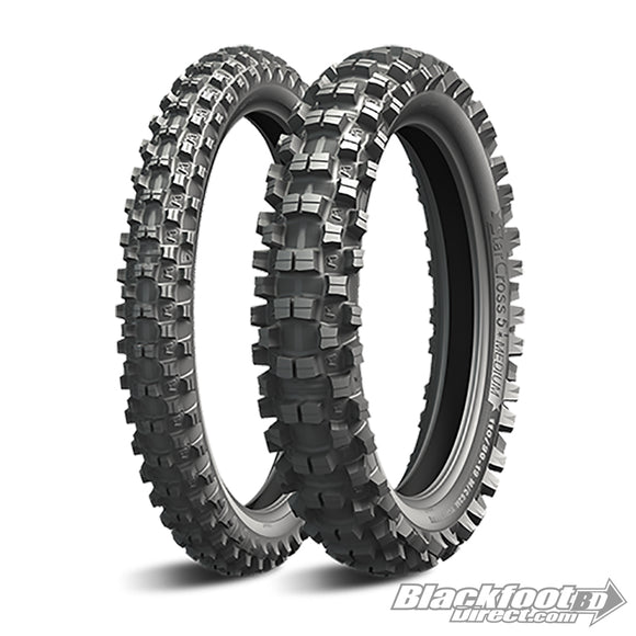 Michelin Starcross 5 Medium Tires - BFD Moto