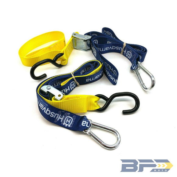Husqvarna Soft Tie Downs - BFD Moto