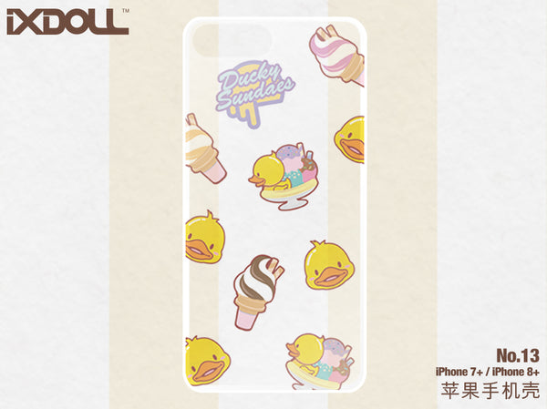 [STS13] Ducky Sundaes  (for  iPhone 7P/8P)