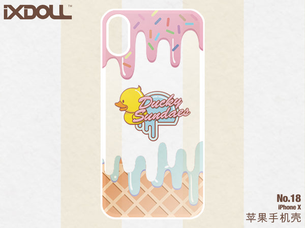 [STS18] BuBu Candy Cone (for  iPhone X)