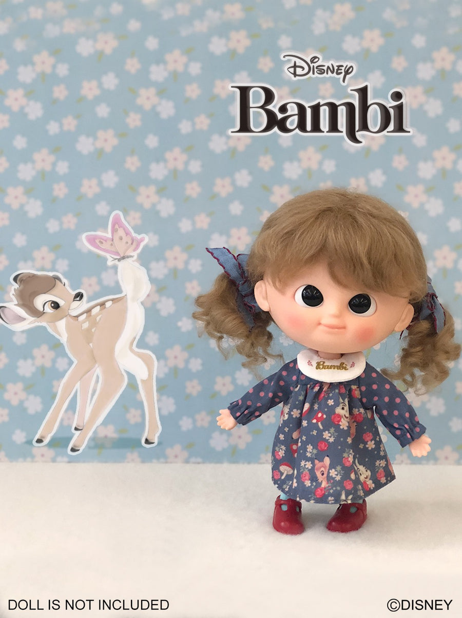 [OF392] Disney Bambi Edition - Party Dress/Navy ver.(Exclusively For Hong Kong)