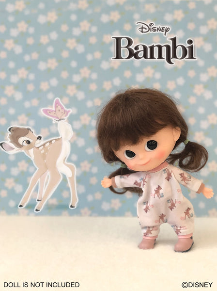[OF374] Disney Bambi Edition - Jumpsuit /Pink ver.(Exclusively For Hong Kong)