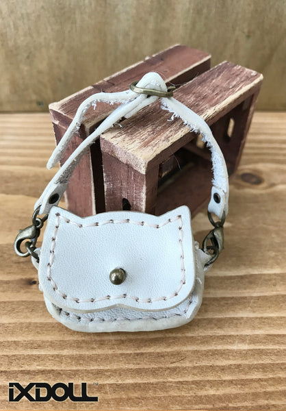 [ABG10] Handmade Leather Bag (Vanilla)