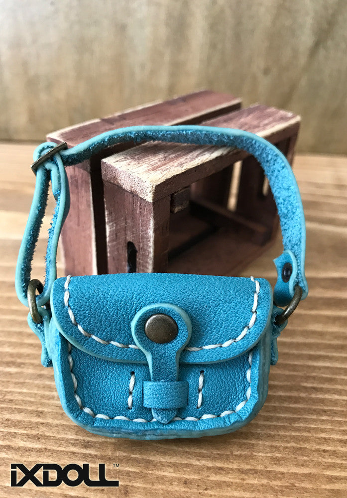 [ABG06] Handmade Leather Bag (Teal)