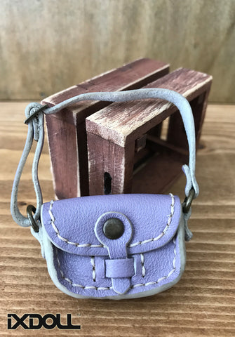 [ABG07] Handmade Leather Bag (Mauve Mist)