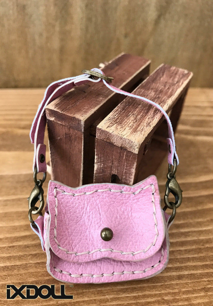 [ABG13] Handmade Leather Bag (Cotton Candy)