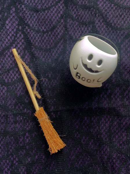 [AH-WB] Halloween Witch Broom Stick Set