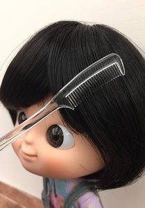 [AHC05] Mini Tail Hair Comb / Transparent