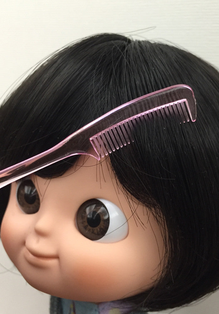 [AHC07] Mini Tail Hair Comb / Pink