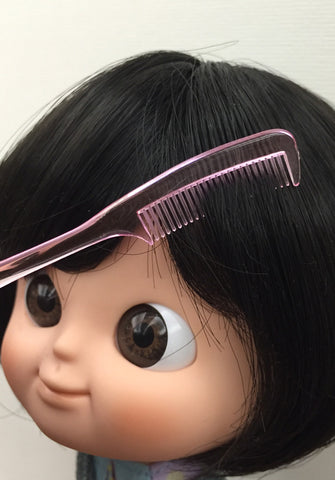 [AHC07] Mini Tail Hair Comb (Pink)