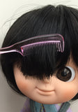 [AHC06]  Mini Tail Hair Comb / Black