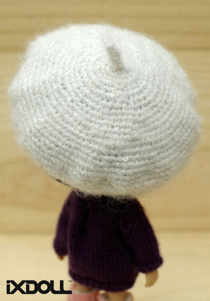 [AHT14] French Artist Hat (White)