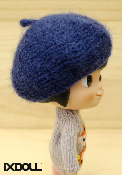 [AHT18] French Artist Hat (Classic Blue)
