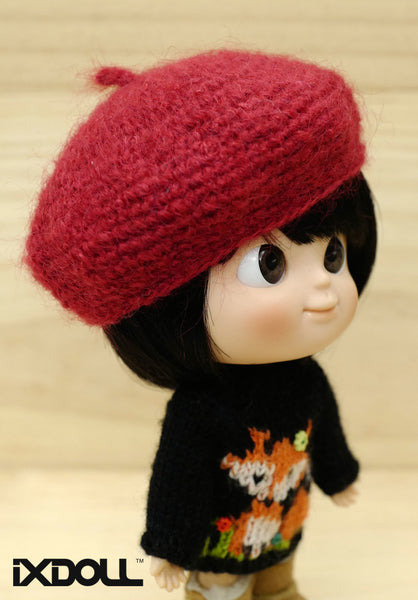 [AHT19] French Artist Hat (Red)