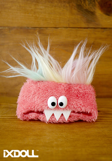 [AHT35] Scary Monster Hat / Coral Red