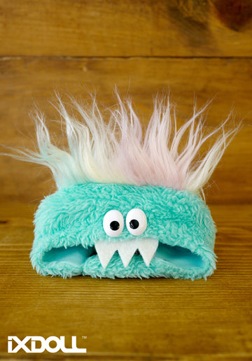 [AHT36] Scary Monster Hat / Ice Green