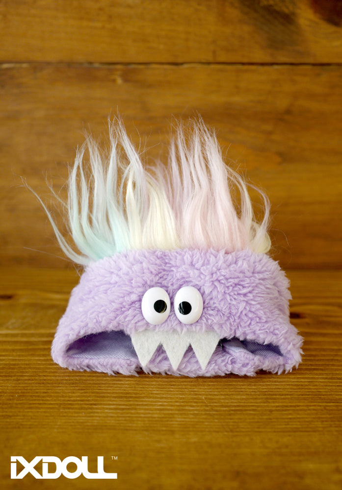 [AHT37] Scary Monster Hat (Lilac Purple)