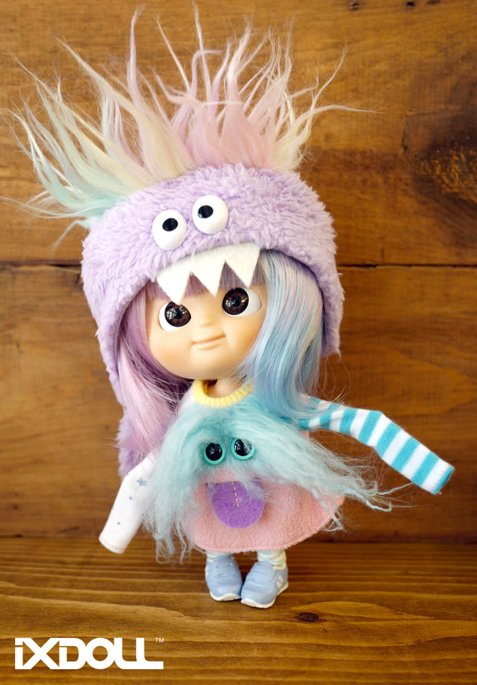 [AHT37] Scary Monster Hat / Lilac Purple