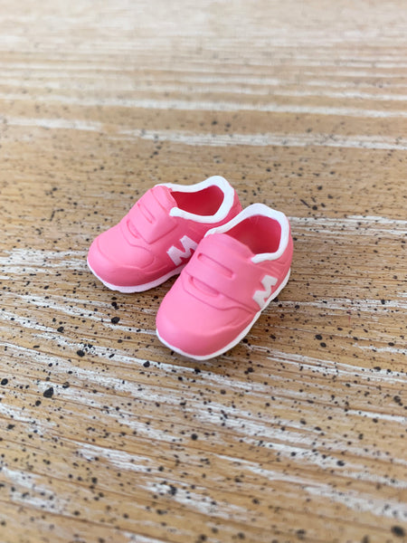 [APS06] M Sneaker Sport Shoes (Peach Pink)