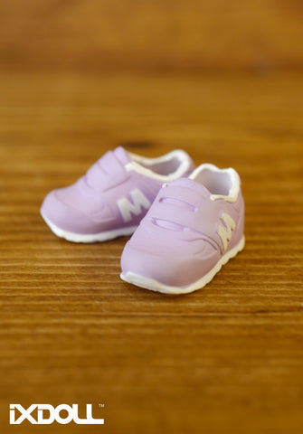 [APS08] M Sneaker Sport Shoes / Crocus Purple