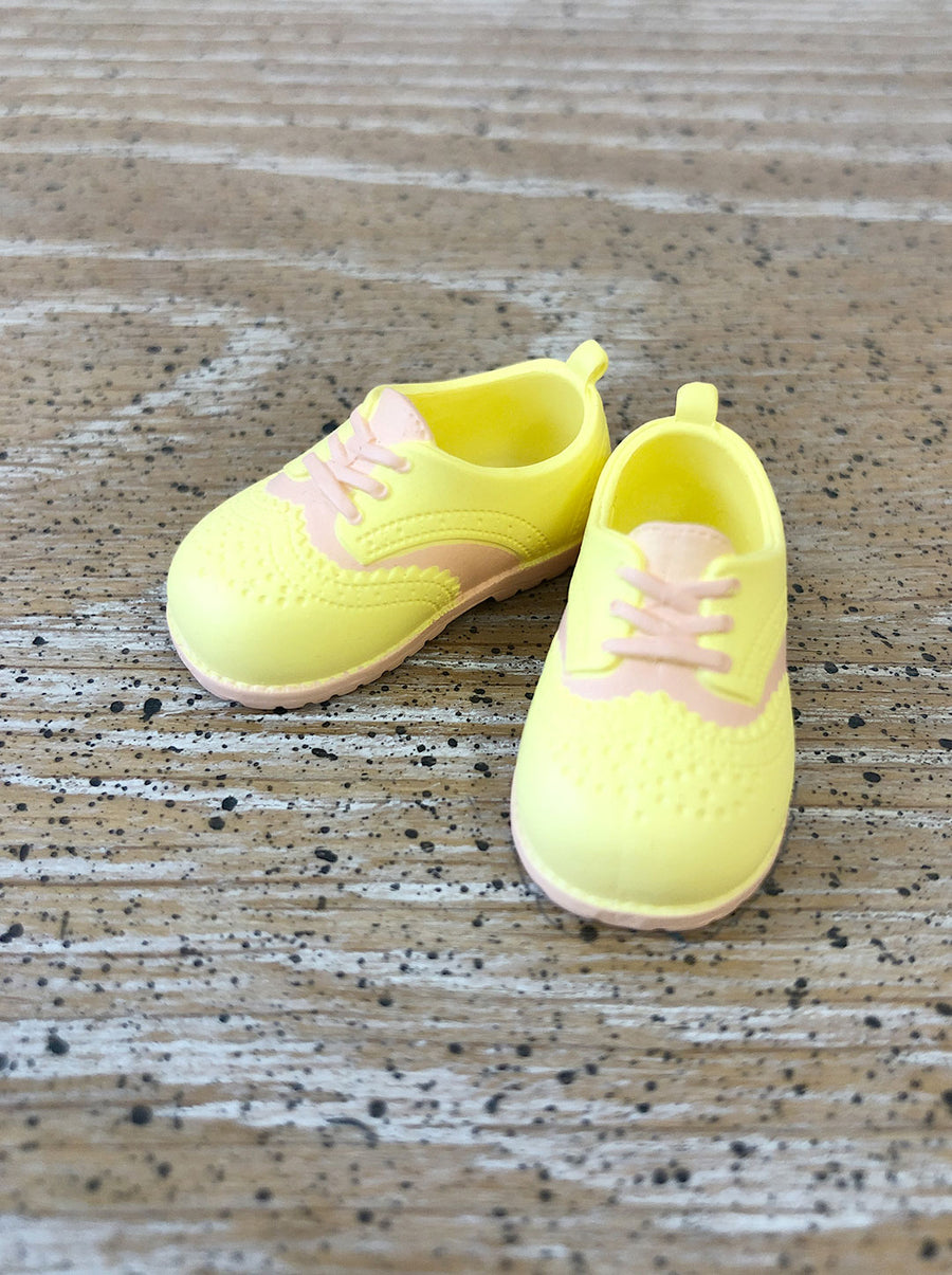 [APS23] Classic Oxford Shoes Yellow
