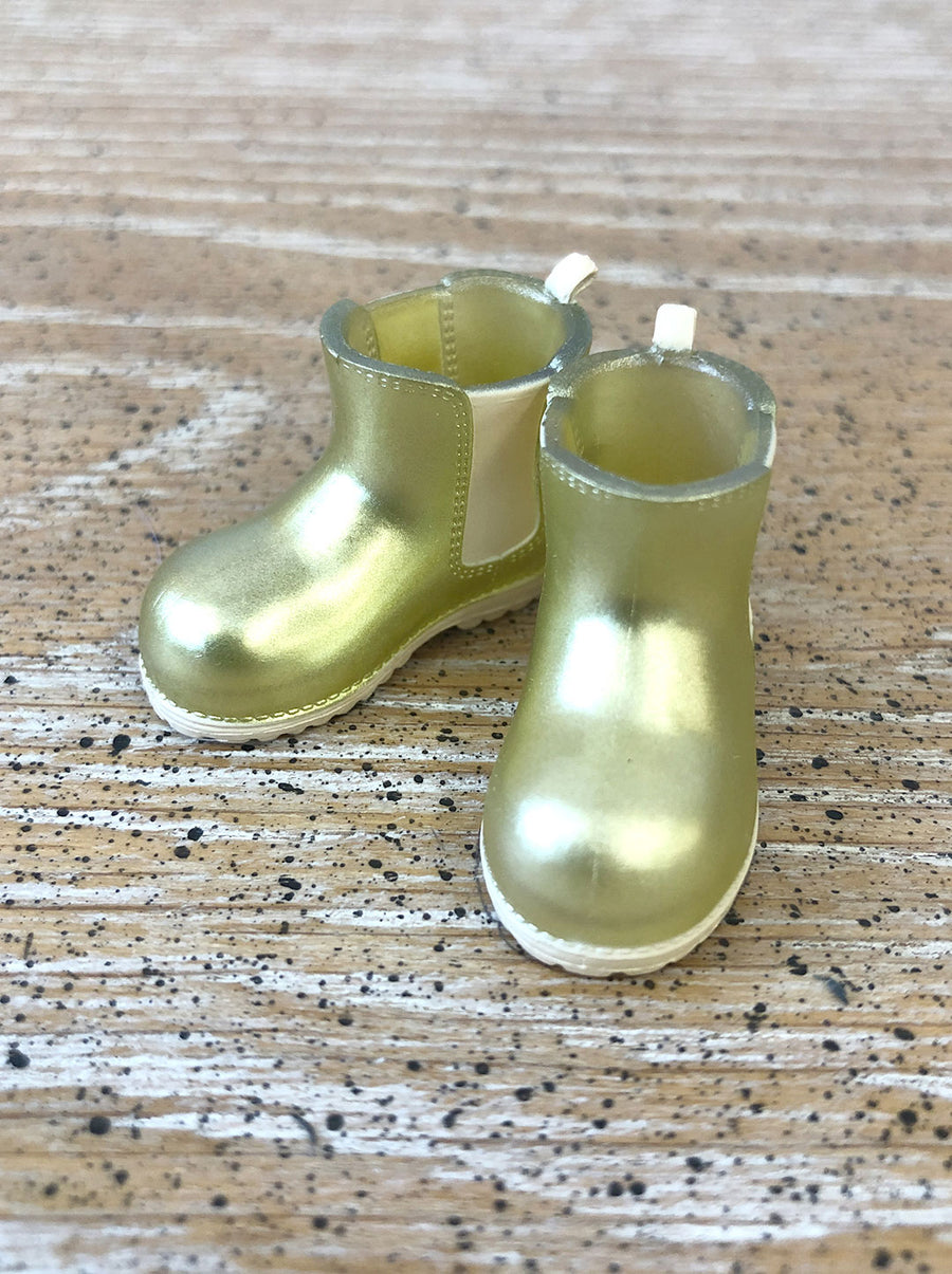 [APS26] Transparent rain boot in Gold