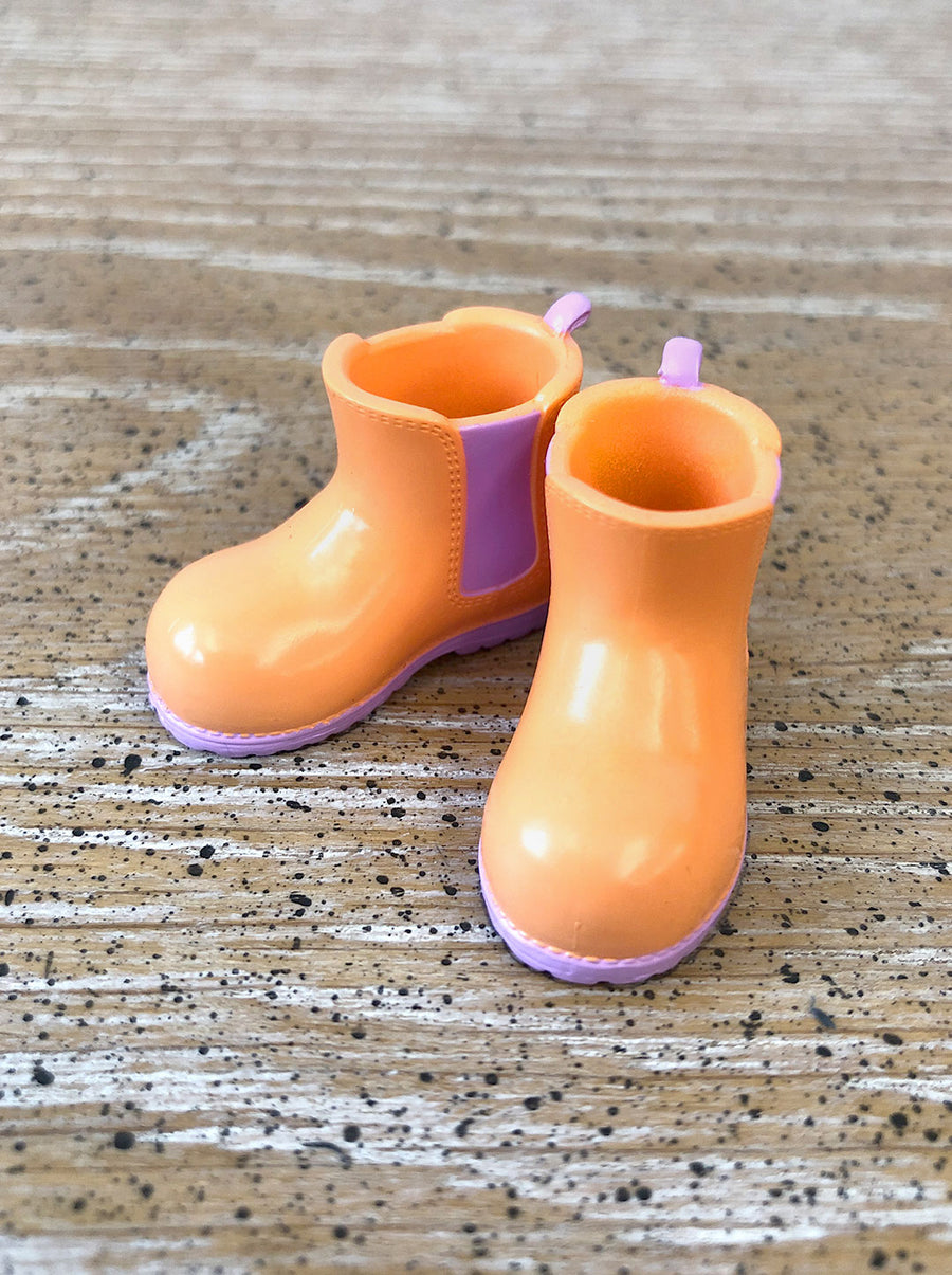 [APS34] Coral Peach Boots