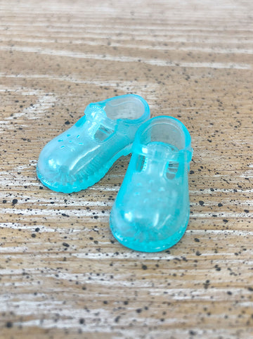 [APS45] Jelly Aloe Vera MaryJane Shoes