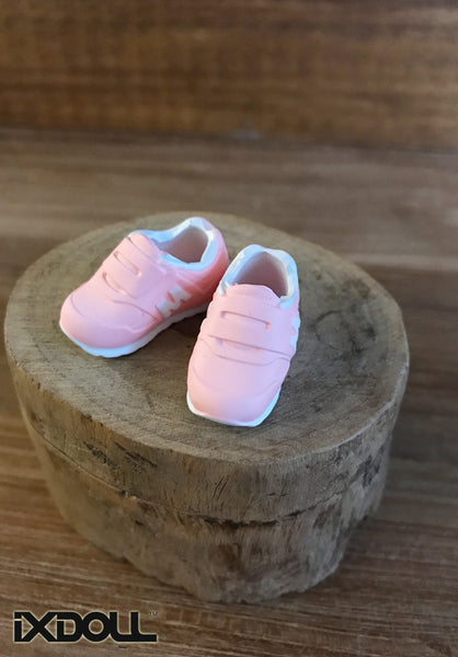 [APS01] M Sneaker Sport Shoes (Sakura Pink)