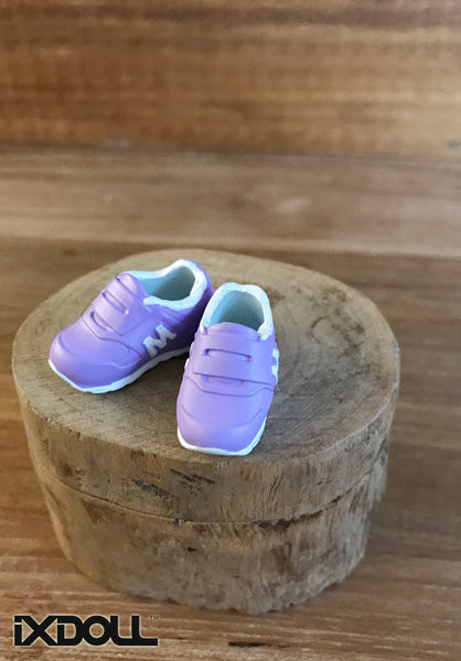 [APS02] M Sneaker Sport Shoes (Lavender Purple)