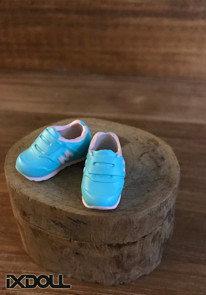 [APS03] M Sneaker Sport Shoes (Aruba blue )