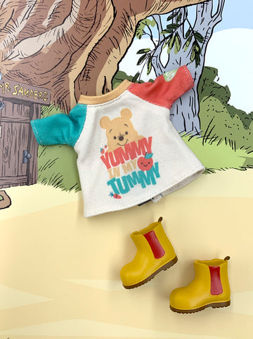 [OF394/A ] Disney Winnie the Pooh Mui-chan Tee set (Exclusively For Hong Kong)