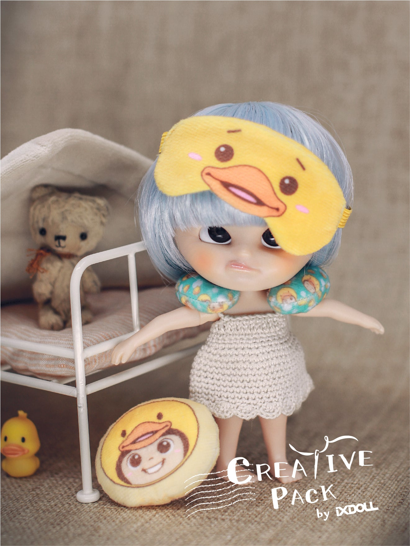 [MDIY02] Bubu Ducky Creative Pack Set B