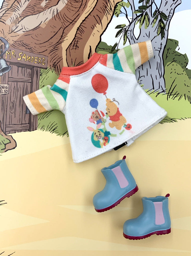 [OF393/B ] Disney Winnie the Pooh Mui-chan Tee set (Exclusively For Hong Kong)