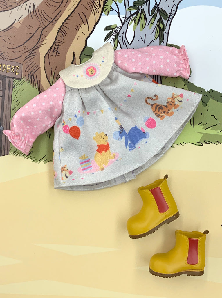 [OF395/E ] Disney Winnie the Pooh Edition Mui-chan Party Dress (Exclusively For Hong Kong)