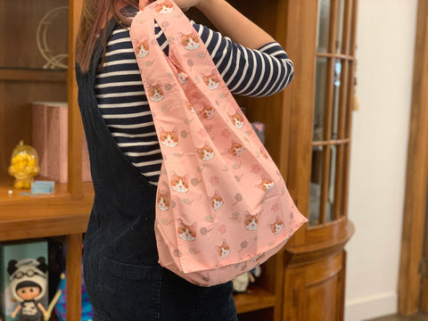 [MBG03] Shopping Bag Dreamy Meow Pink