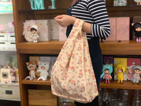 [MBG04] Shopping Bag Dreamy Meow Cream