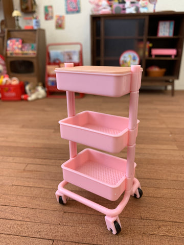 [ATY-47] Storage Trolleys (Pink)