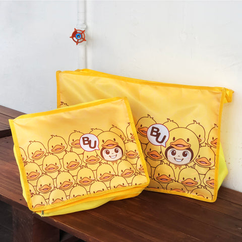 [STS02] Travel Storage Bag (BuBu Bathing Duck)