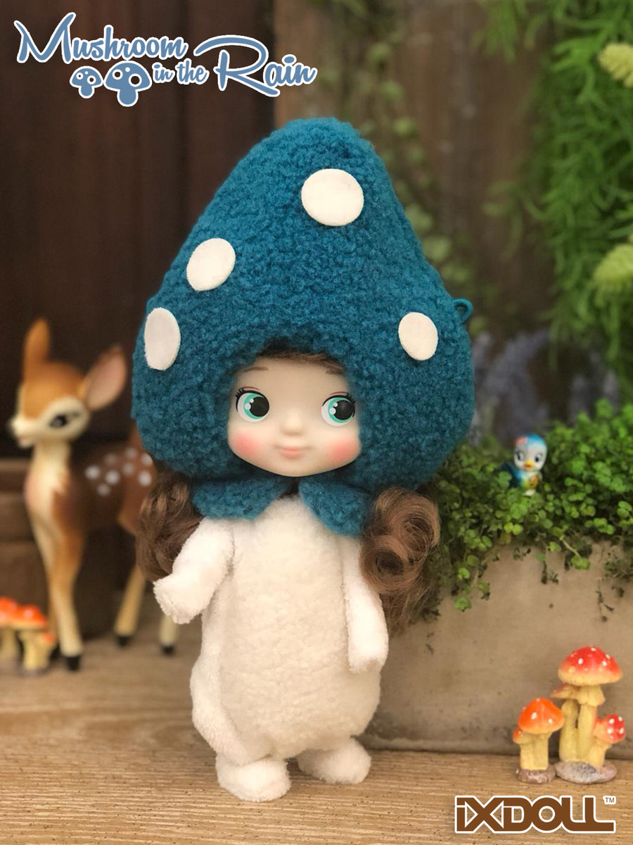 [H011a] Hachichi Series- Mushroom in the rain / Vintage Blue ver.(BTS 2019 Limited)