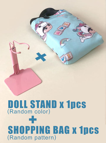 [Combo set] Doll Stand & Shopping Bag
