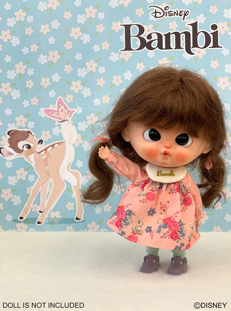 [OF390] Disney Bambi Edition - Party Dress/Pink ver.