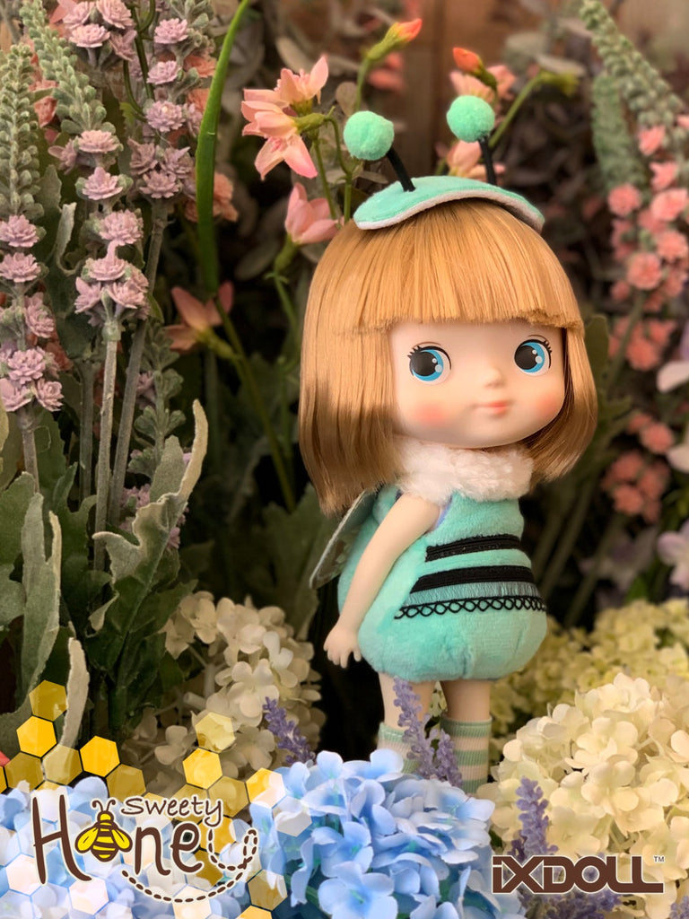 [H007A] Hachichi Series- Sweety Honey/Turquoise (Rosy-Pale Skin)