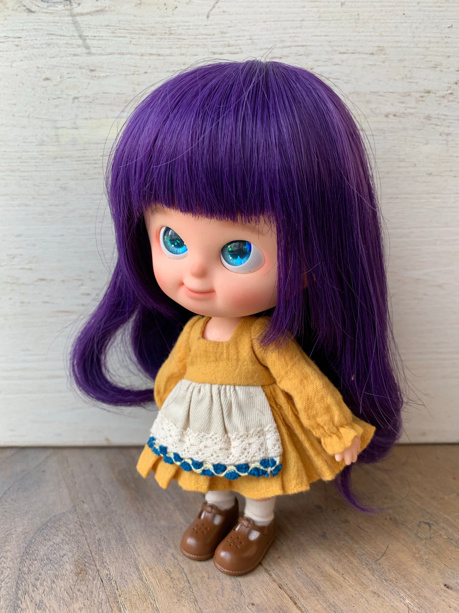 [DW64] Hair Wig - Long Loose Curl / Eggplant ♡ Pre-order ♡