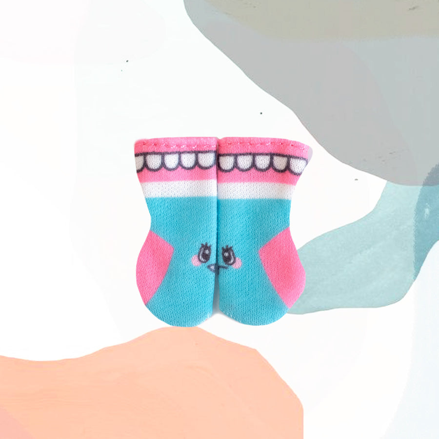 [OF352] Monster Sock (Teeth)