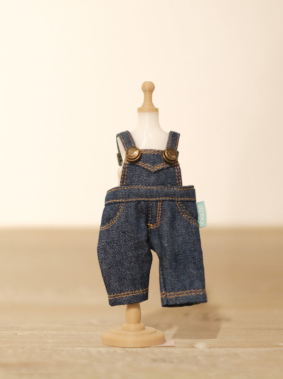 [OF287] Mui-Denim Overalls Unwashed (Dark)