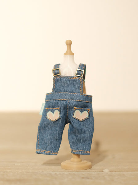 [OF288] MC Jeans Denim Overalls Unwashed (Light)